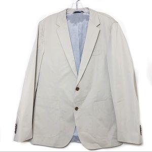 Hugo Boss Khaki  2 Button Blazer Mens Size 38R